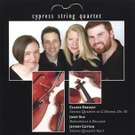 Cypress String Quartet: Debussy, Suk, Cotton